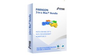 Paragon 3-in-1 Mac Bundle, Single License, includes NTFS for Mac, HFS+ for Windows, Camptune X