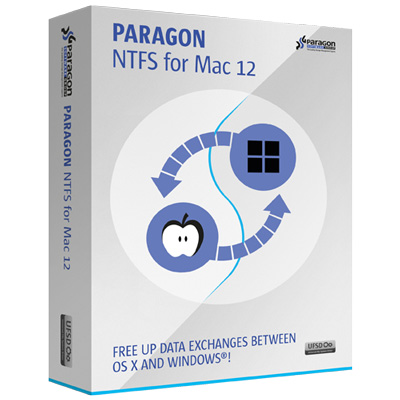 Paragon NTFS for Mac OS X 12  (50-99 licenses)
